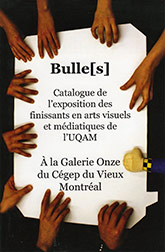 Couverture de la publication : Bulle[s]