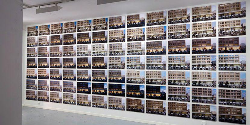 Untitled (Alexanderplatz), 2010, 84 impressions couleur au jet d'encre, 55 x 35 cm ch.