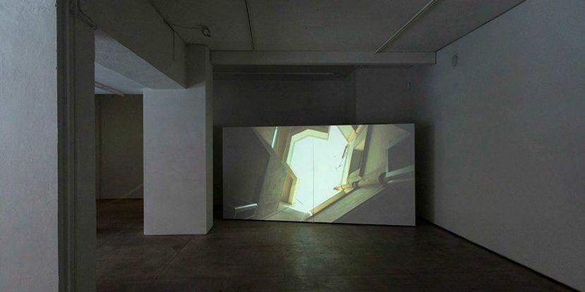 Untitled (Alsina), 2011, projection vidéo HD, couleur, mono, 4:00 minutes en boucle
